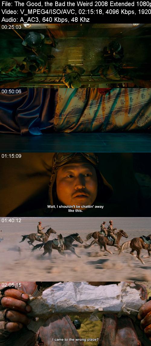 The Good, the Bad, the Weird 2008 Extended 1080p  BRip X264 AC-3 - 5,1 KINGDOM-RG
