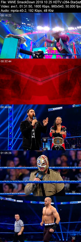 WWE SmackDown 2019 10 25 HDTV x264-Star