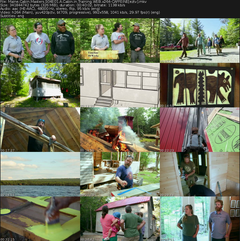 Maine Cabin Masters Movie