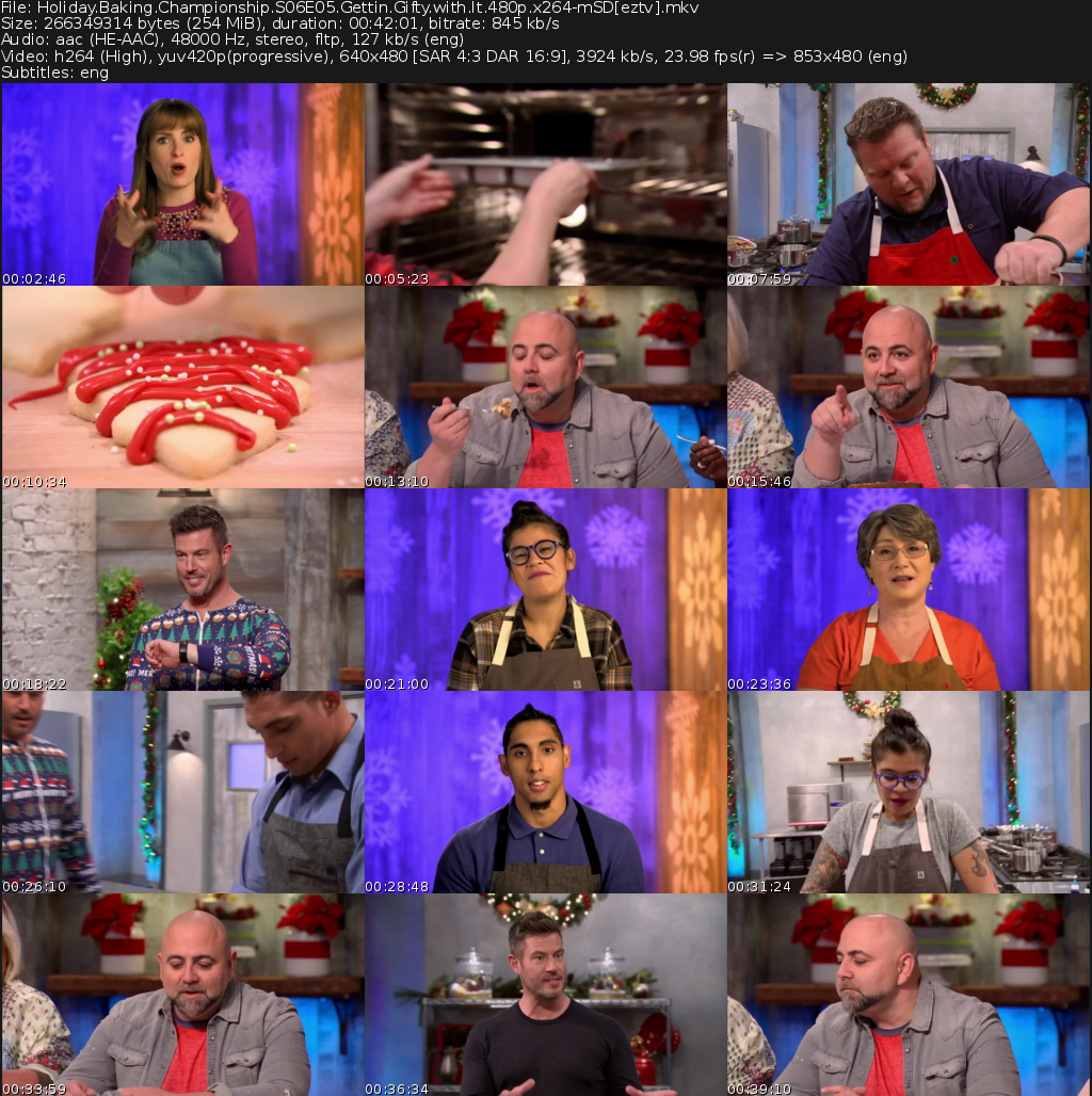 Holiday Baking Championship Movie